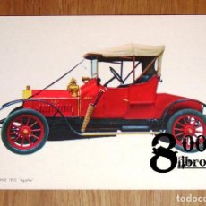 Postales: POSTAL. LA LICORNE 1912, 'AGATHE' (CYZ ; 6807). - COCHE. Lote 246465315
