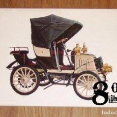 Postales: POSTAL. FIAT 1901 (CYZ ; 6843). - COCHE. Lote 246465425
