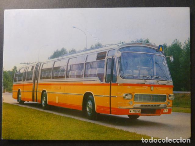 AUTOCAR PEGASO 3031-A 200CV 84 PLAZAS POSTAL (Postales - Postales Temáticas - Coches y Automóviles)