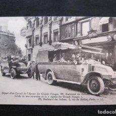 Postales: COCHES DE TURISMO-PARIS-CIRCUIT DE L'AGENCE GRANDS VOYAGES-POSTAL ANTIGUA-(79.264). Lote 252206930