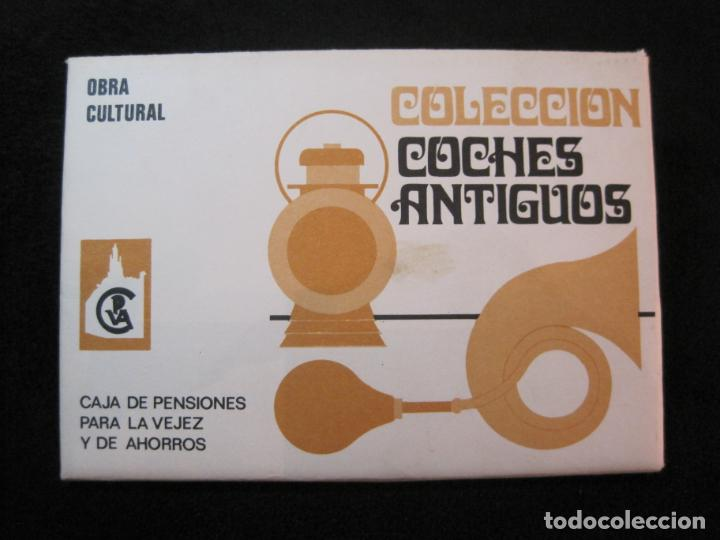 Postales: COLECCION COCHES ANTIGUOS-BLOC CON 15 POSTALES-POSTAL ANTIGUA-(K-2175) - Foto 2 - 253556780