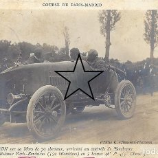 Postales: CARRERA PARIS MADRID 1903. Lote 254220040