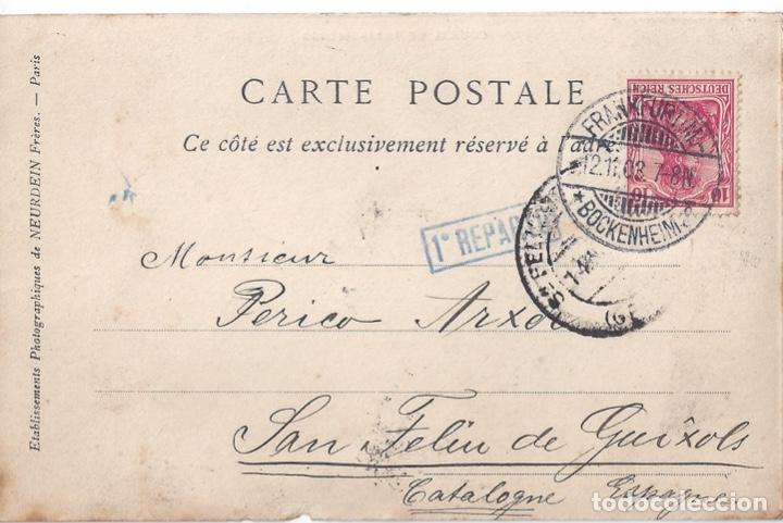 Postales: CARRERA PARIS MADRID 1903 - Foto 2 - 254220040