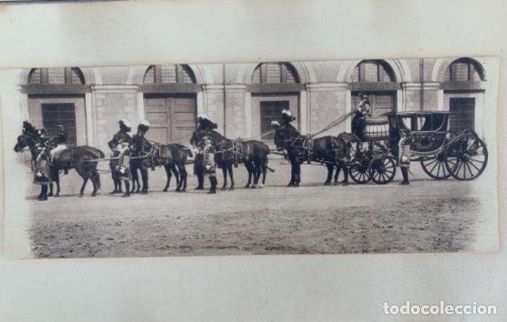 Postales: DOS POSTALES DOBLES - CABALLOS Y CARRUAJE REAL - EDICIÓN M. PALOMEQUE - Foto 3 - 261639735