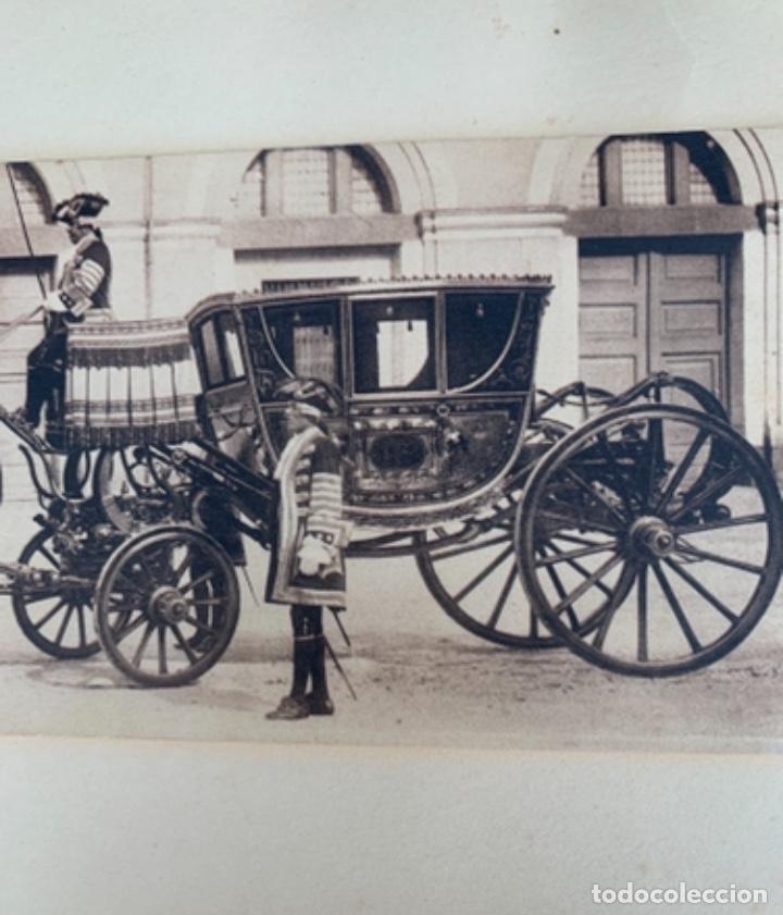 Postales: DOS POSTALES DOBLES - CABALLOS Y CARRUAJE REAL - EDICIÓN M. PALOMEQUE - Foto 5 - 261639735