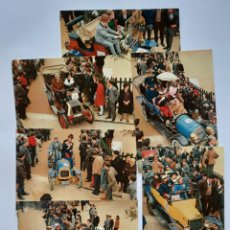 Postales: 6 POSTALES EDICION SEIX BARRAL / RALLY COCHES DE EPOCA BARCELONA - SITGES 1968. Lote 261800610