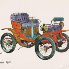 Postales: POSTAL COCHE DE EPOCA, DE DION BOUTON 1901 – ED.C.P.V.A. 8107/C – S/C. Lote 262917915