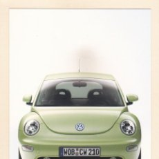 Postales: POSTAL ORIGINAL NEW BEETLE POSTCARD COLLECTION. 1998, VOLKSWAGEN AG - COCHE. Lote 263184925