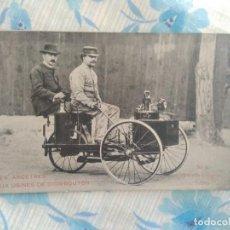 Postales: ANTIGUA POSTAL N 5 TRICYCLE A VAPEUR 1886. Lote 263250925