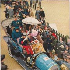Postales: COCHES DE ÉPOCA - RALLY BARCELONA SITGES, DELAUNAY BELLEVILLE 1906 - SEIX BARRAL 207-68 - S/C. Lote 263560235