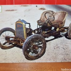 Postales: POSTAL ANTIGUA - COCHES DE ÉPOCA - SERIE B N°39 - SALVADOR 1916 - ESCUDO DE ORO. Lote 264444844