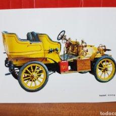 Postales: POSTAL - COCHE - VAUXHALL 12/14 H.P 1904. Lote 264445699