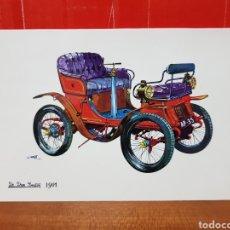 Postales: POSTAL - COCHE - DE DION BOUTON 1901. Lote 264446844