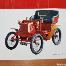 Postales: POSTAL - COCHE - GEORGE RICHARD 3'5 H.P 1900. Lote 264447159