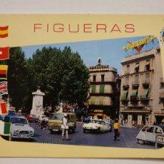 Postales: CITROËN DS TIBURÓN - FIGUERES - LAXC - P53318. Lote 270151738