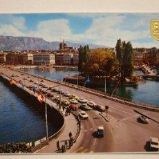 Postales: CITROËN DS TIBURÓN . GENÈVE / GINEBRA - LAXC - P53322. Lote 270152698