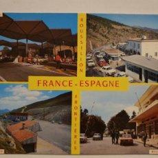 Postales: CITROËN DS TIBURÓN - FRONTERAS - LAXC - P53356. Lote 270156118