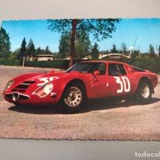 Postales: ANTIGUA POSTAL AUTOMOVIL ALFA ROMEO TZ/2 - ITALIA - PAPEL KODAK. Lote 270614493