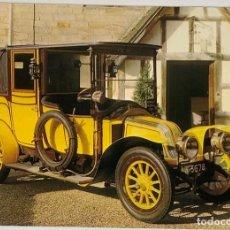 Cartoline: POSTAL COCHES ANTIGUOS. RENAULT 1911 CIRCULADA HOLANDA 70S. Lote 274894833