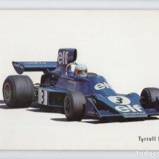 Cartoline: JODY SCHECKTER CON TYRRELL FORD ♦ EDICIÓN CAJA DE PENSIONES, 1973. Lote 275979463
