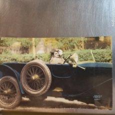 Postales: MUY DIFÍCIL POSTAL FRANCESA DE 1929 EKO 3357 COCHE 1920S. ANTONIO LIAÑO. Lote 277853873