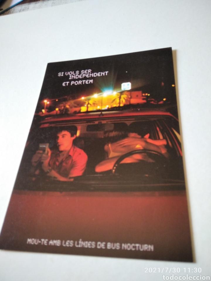 POSTAL BUS TRANSPORTS PUBLICS DE CATALUNYA (Postales - Postales Temáticas - Coches y Automóviles)