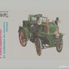 Postales: LOTE A-POSTAL PUBLICIDAD TAMAÑO GRANDE N 1 -25X15 COCHES AÑOS 60. Lote 287669553