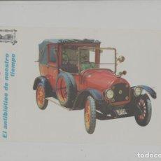Postales: LOTE A-POSTAL PUBLICIDAD TAMAÑO GRANDE N 3 -25X15 COCHES AÑOS 60. Lote 287669788