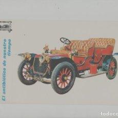 Postales: LOTE A-POSTAL PUBLICIDAD TAMAÑO GRANDE N 5 -25X15 COCHES AÑOS 60. Lote 287669888