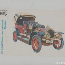 Postales: LOTE A-POSTAL PUBLICIDAD TAMAÑO GRANDE -25X15 COCHES AÑOS 60. Lote 287670143