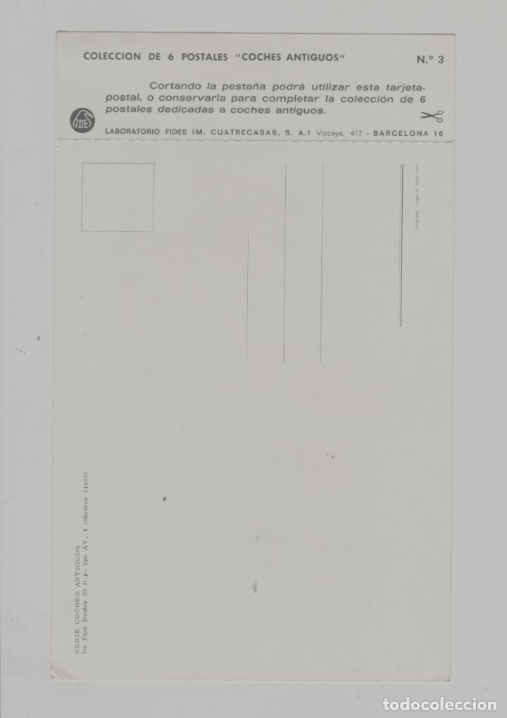 Postales: LOTE A-POSTAL PUBLICIDAD TAMAÑO GRANDE -25X15 COCHES AÑOS 60 - Foto 2 - 287670143