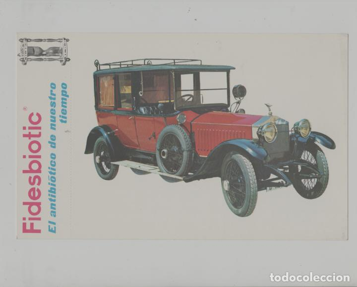 LOTE A-POSTAL PUBLICIDAD TAMAÑO GRANDE -25X15 COCHES AÑOS 60 (Postales - Postales Temáticas - Coches y Automóviles)
