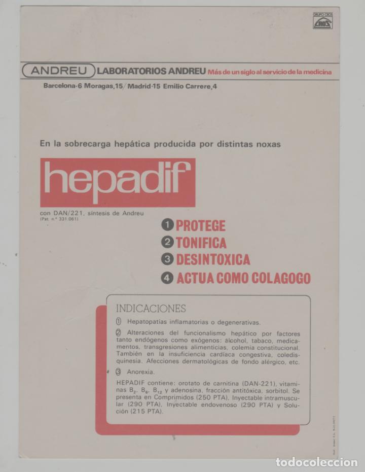 Postales: LOTE A-POSTAL PUBLICIDAD TAMAÑO GRANDE -24X16 MERCADOS EXOTICOS NEPAL AÑO 1973 - Foto 2 - 287671243