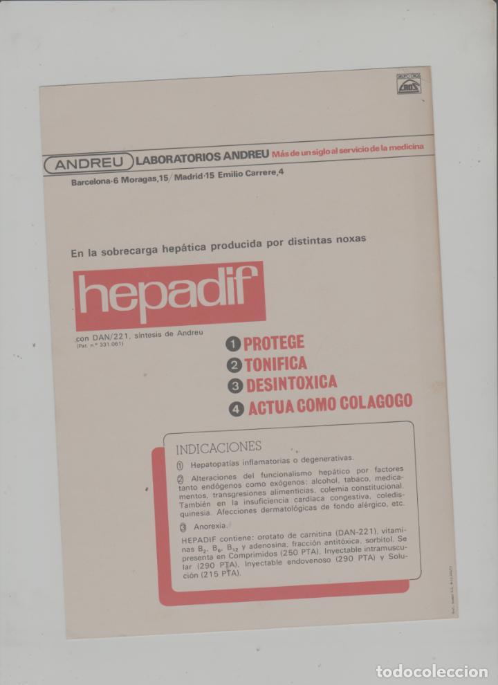 Postales: LOTE A-POSTAL PUBLICIDAD TAMAÑO GRANDE -24X16 MERCADOS EXOTICOS INDIA AÑO 1973 - Foto 2 - 287671343