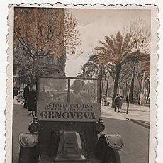 Postales: X126150 RARO FOTO RENAULT TIPO G BARCELONA ASTORIA CRISTINA A PARTIR DEL SABADO DE GLORIA GENOVEVA. Lote 288366103