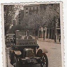 Postales: X126151 RARO FOTO RENAULT TIPO G BARCELONA ASTORIA CRISTINA A PARTIR DEL SABADO DE GLORIA GENOVEVA. Lote 288366553