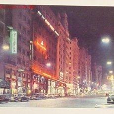 Postales: 163 - MADRID - AVENIDA JOSE ANTONIO . CIRCULADA .. Lote 4929503