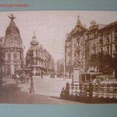 Postales: MADRID CALLE DE ALCALA Y GRAN VIA. Lote 811900