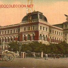 Postales: TARJETA POSTAL ANTIGUA DE MADRID. - MINISTERIO DE FOMENTO.. Lote 4158169