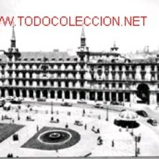 Postales: POSTAL MADRID - PLAZA MAYOR, CIRCULADA 1963. Lote 16816888