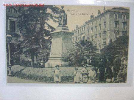 MADRID PLAZA DE ISABEL II (Postales - España - Comunidad de Madrid Antigua (hasta 1939))