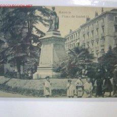 Postales: MADRID PLAZA DE ISABEL II. Lote 2289128