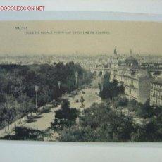Postales: MADRID CALLE ALCALA DESDE LAS ESCUELAS DE AGUIRRE. Lote 114523306