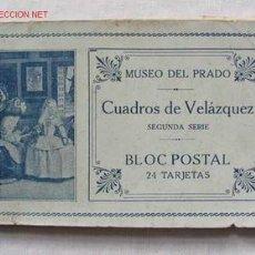 Postales: 9 TARJETAS POSTAL CUADROS DE VELAZQUEZ. Lote 1829309