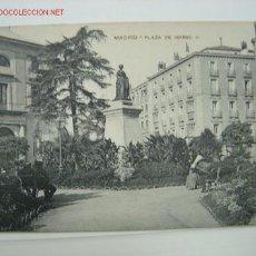 Postales: MADRID PLAZA DE ISABEL II. Lote 516651