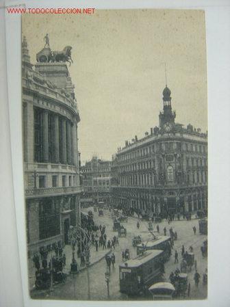 MADRID CALLE DE SEVILLA (Postales - España - Comunidad de Madrid Antigua (hasta 1939))
