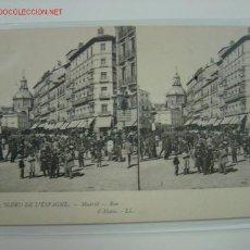 Postales: MADRID ESTEREOSCOPICA, CALLE DE ALCALA. Lote 517968