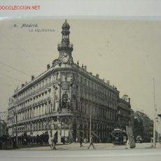 Postales: MADRID LA EQUITATIVA. Lote 11206302