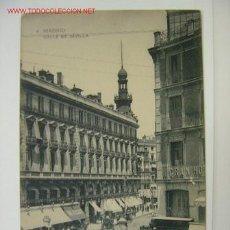 Postales: MADRID CALLE DE SEVILLA. Lote 11206316