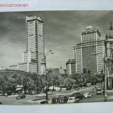 Postales: MADRID PLAZA DE ESPAÑA. TORRE DE MADRID. Lote 3419401